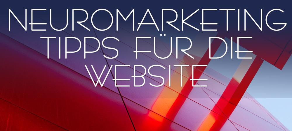 Neuromarketing for Website